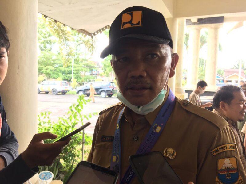 FOTO : Kepala Dinas Pekerjaan Umum dan Perumahan Rakyat (PUPR) Provinsi Jambi M. Fauzi