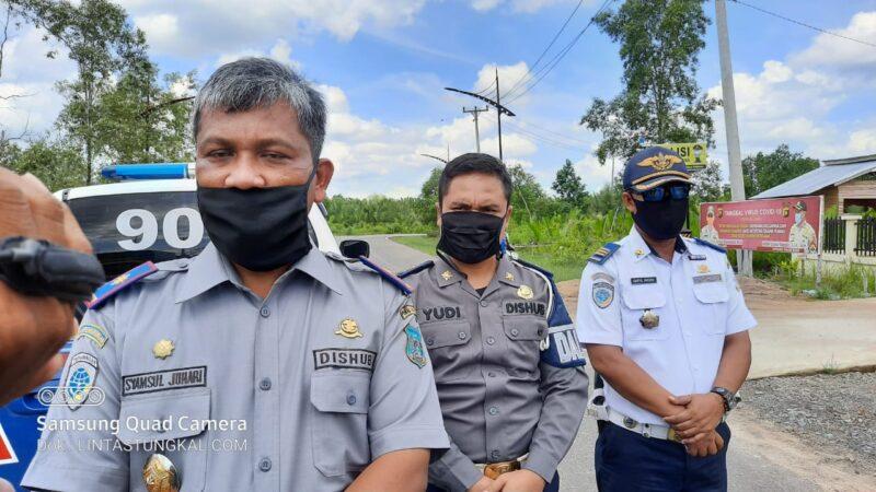 Kepala Dinas Perhubungan Tanjab Barat Syamsul Juhari, S.Sos.