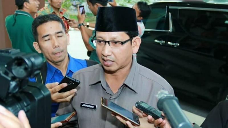 FOTO : Karo Humas dan Protokol Setda Provinsi Jambi Johansyah, SE ME.
