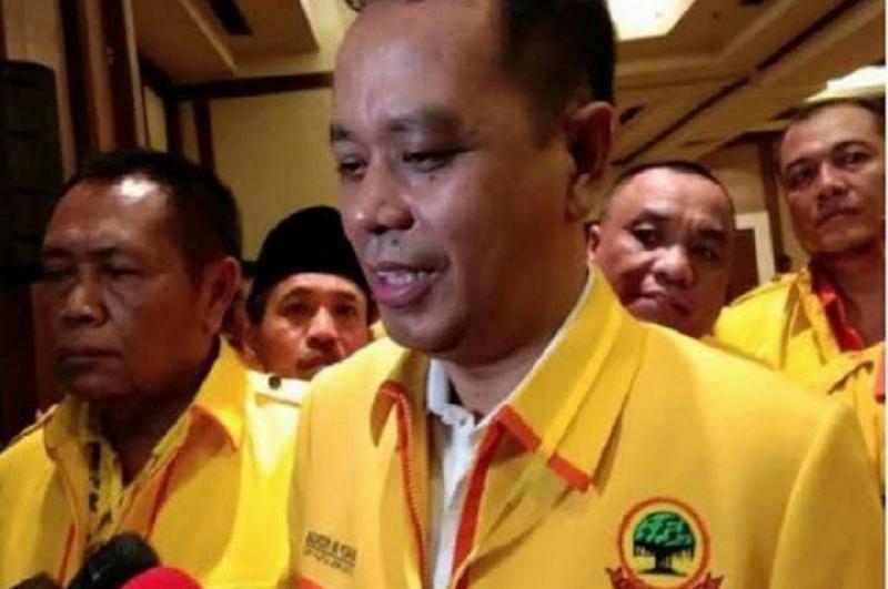 FOTO : Sekretaris Jenderal Partai Berkarya Badaruddin Andi Picunang