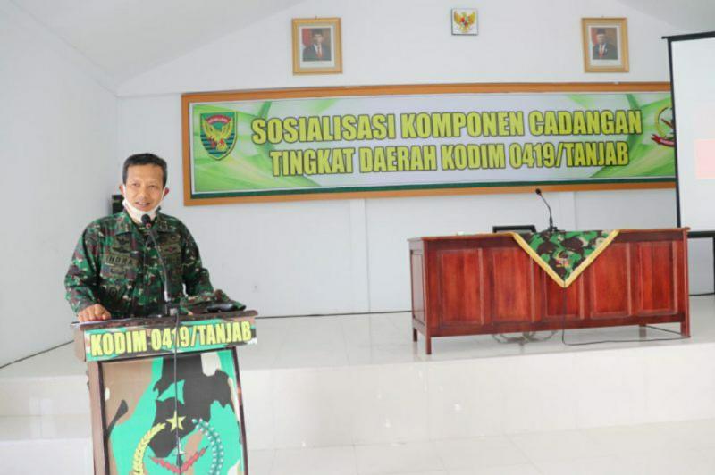 Kasdim 0419/Tanjab Mayor Chb Indra Wijaya