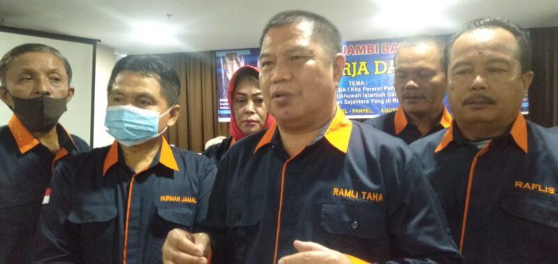 FOTO : Ramli Taha, SH, MH Ketua Presidium asal Kabupaten Kerinci untuk periode 2020-2021