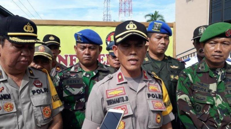 FOTO : Wakapolres Tanjab Barat Kompol Wirmanto Dinata, S.Ag, MH.
