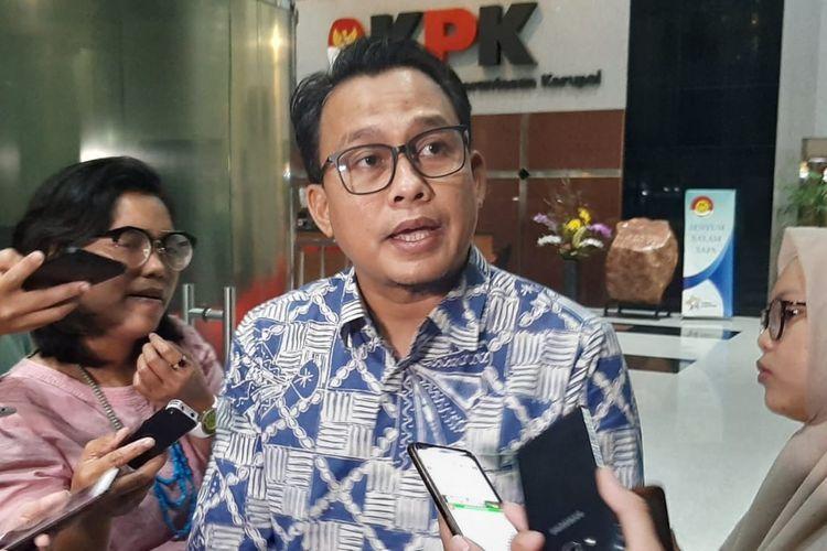 FOTO : Plt Juru Bicara KPK Ali Fikri/Kompas.com