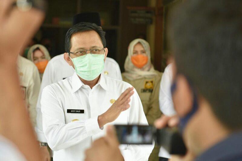 FOTO : Penjabat sementara (Pjs) Gubernur Jambi, Ir. Restuardy Daud, M.Sc