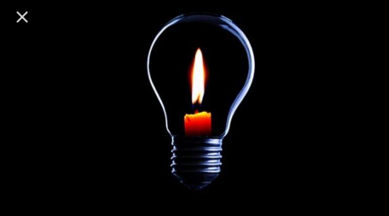 FOTO : Ilustrasi Gelap Lampu Padam