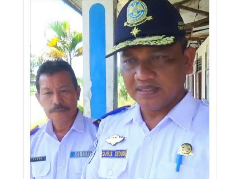 FOTO : Kepala Dinas Perhubungan Kabupaten Tanjung Jabung Barat, Syamsul Jauhari, S.Sos.