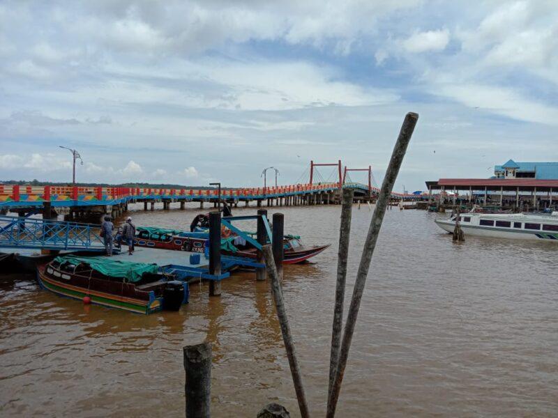 FOTO : Speedboad di Pelabuhan LASDP Kuala Tungkal