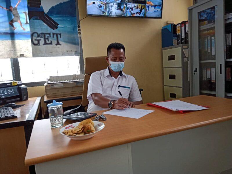 FOTO : Kepala Seksi Pengadaan dan Operasional Bulog M. Yusuf