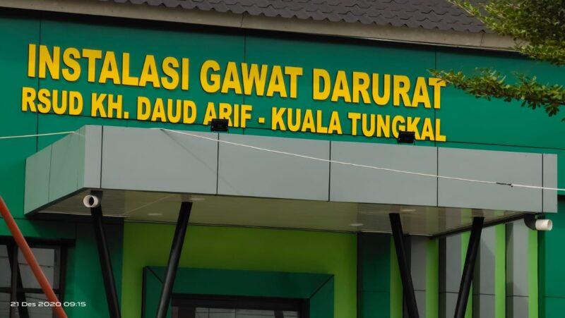 FOTO : RSUD KH Daud Arif Tanjung Jabung Barat.