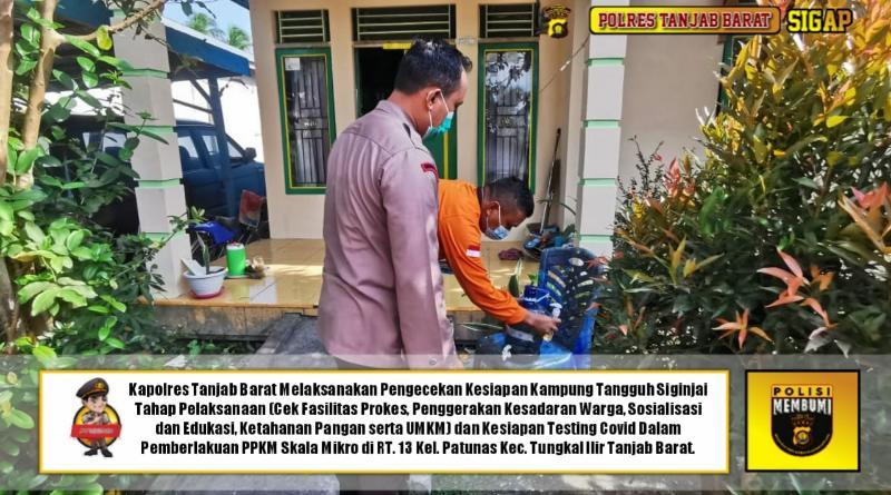 Satgas C-19 Tanjabbar Prioritaskan 4 Kelurahan dan 1 Jawasan Wisata Kuliner PPKM Skala Mikro