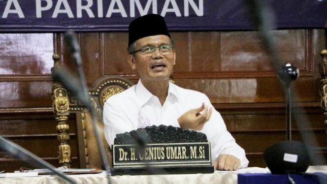 Wali Kota Pariaman, Genius Umar/ FOTO : Pariamankota.go.id