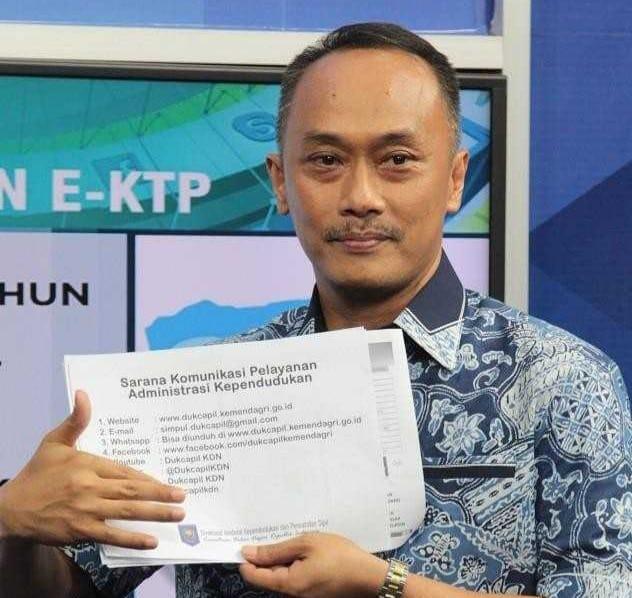 Dirjen Dukcapil Kemendagri, Prof. Dr. Zudan Arif Fakrulloh, SH, MH. Foto/Kemendagri