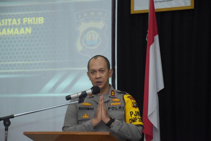 FOTO : Kapolda Jambi Irjen Pol A. Rachmad Wibowo