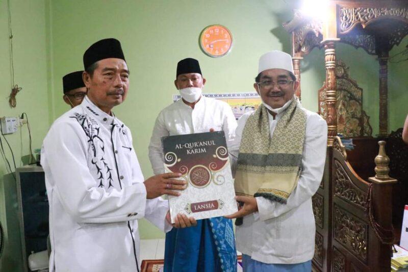 Bupati KH. Anwar Sadat dan Wabup Hairan Safari Ramadhan di Darussalam, Desa Sungai Muluk, Kecamatan Muara Papalik. FOTO : Prokopim.