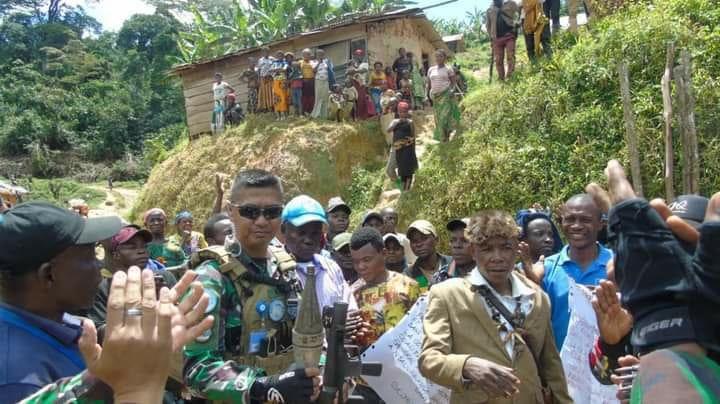 Satgas BGC Berhasil Turunkan Ketua Milisi Kelompok Bersenjata Terbesar di Kongo. FOTO : Puspen TNI