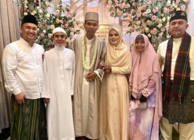 Foto: UAS menikah (Instagram UAS)