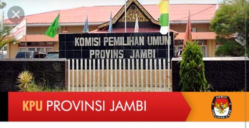 Gedung KPU Provinsi Jambi. FOTO : IST