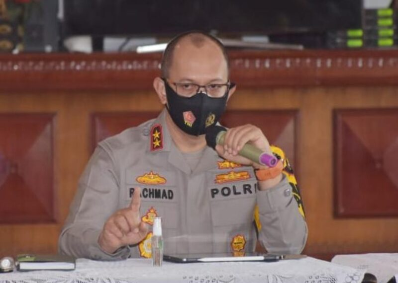 Kapolda Jambi, Irjen Pol A. Rachmad Wibowo. (FOTO : Jambidaily)