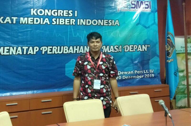 Ketua SMSI Provinsi Jambi Muhtadi Puteranusa. FOTO : Isimewa
