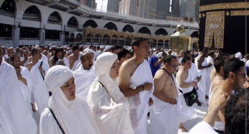 Ilustrasi Pelaksanaan Ibadah Haji di Makah. FOTO : Isyimewa