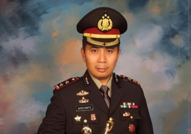 Kapolres Muaro Jambi AKBP Ardiyanto, SIK, MH. (FOTO : Situs Polres Muaro) Jambi