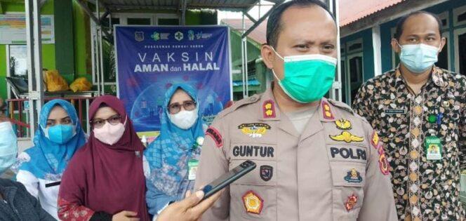 FOTO : Wadansatgas Covid 19 Kabupaten Tanjabbar, AKBP Guntur Saputro