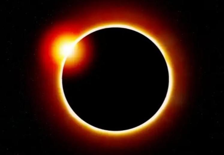 Gerhana Matahari Cincin. FOTO : Ilustrasi Istimewa