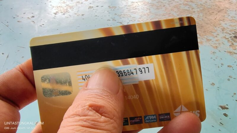Kartu ATM Salah Satu Bank