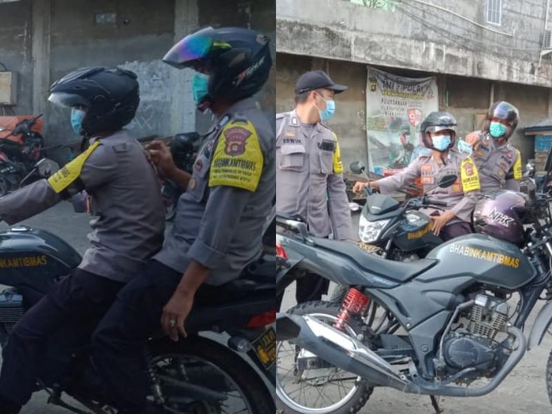 Polsek Tungkal Ilir Amankan 2 Orang Dalam Ops Premanisme, Sabtu (12/06/21).