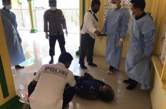 Polisi Melakukan Identifikasi Jasad Mr X di Lokasi Penemuan.