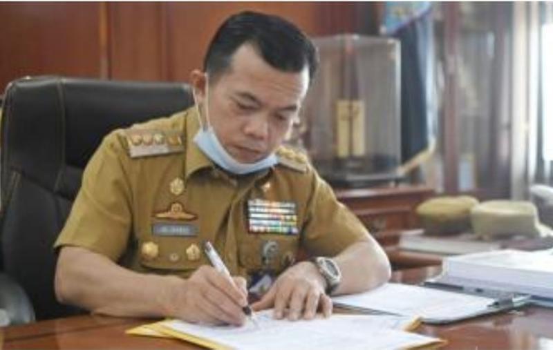 Gubernur Jambi Terpilih Periode 2021-2024, Dr. Al Haris. FOTO : WEBPEMKAB MERANGIN