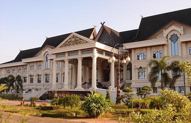 Kantor Gubernur Jambi. FOTO : Istimewa