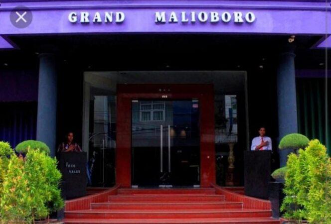 Bob Bee Pinjamkan Hotel Malioboro Untuk Isolasi Pasian Covid-19. FOTO : ISTIMEWA