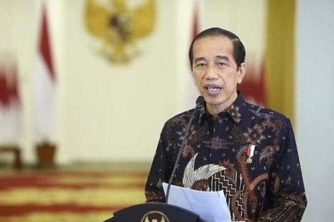 Presiden Joko Widodo Saat Samoaikan Keterangan Pers di Istana Kepresidenan Bogor, Senin (02/08/21). FOTO : ISTIMEWA