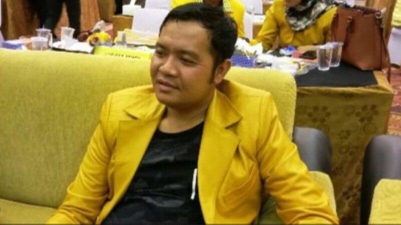 Ketua DPD II Partai Golkar Tanjab Barat, Ahmad Jahfar, SH. FOTO : Jernih.id