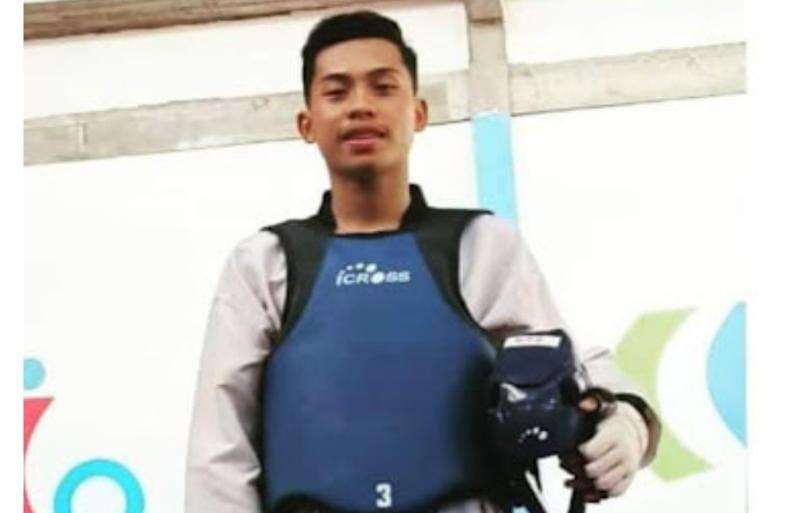 Muhammad Wijaya Hamzah, Atlet Taekwondo Kabupaten Merangin. [FOTO : PengTI-Merangin]