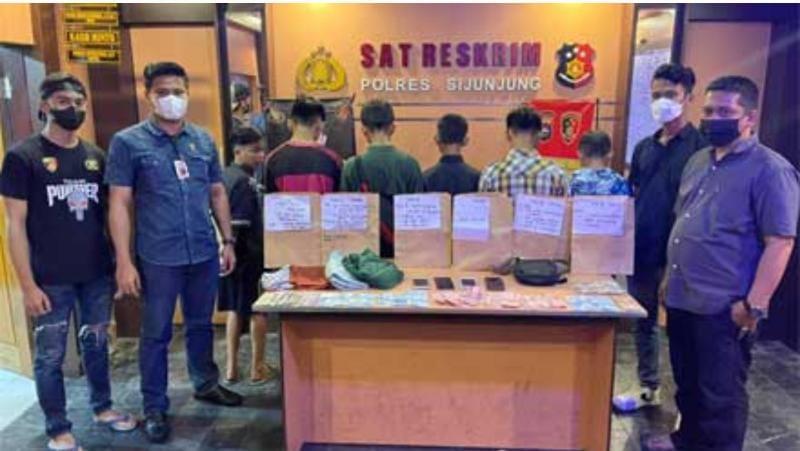 Enam Pelajar Diamankan Polisi Lantaran Lakukan Hal Ini. FOTO : MJnews.id