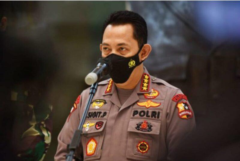 Kapolri Jenderal Pol Listyo Sigit Prabowo. FOTO : Istimewa