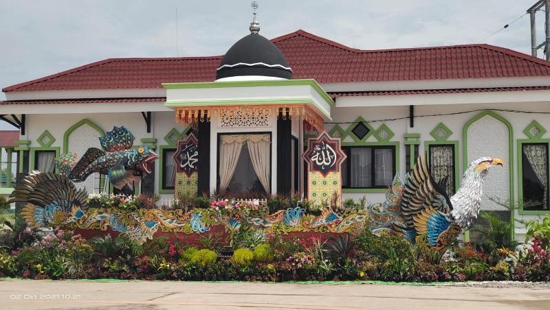 Arena Utama MTQ ke 50 Masjid Syaikh Utsman Tungkal