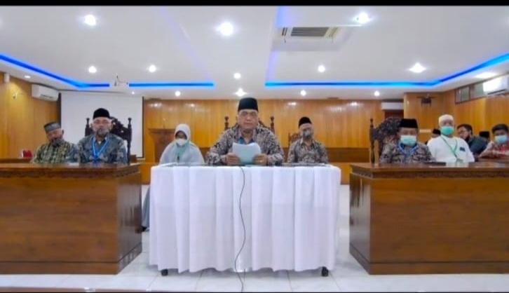 Ketua Koordinator Dewan Hakim Prof Dr. H. Ahmad Syukri, MA. FOTO : Tangkspsn Layar