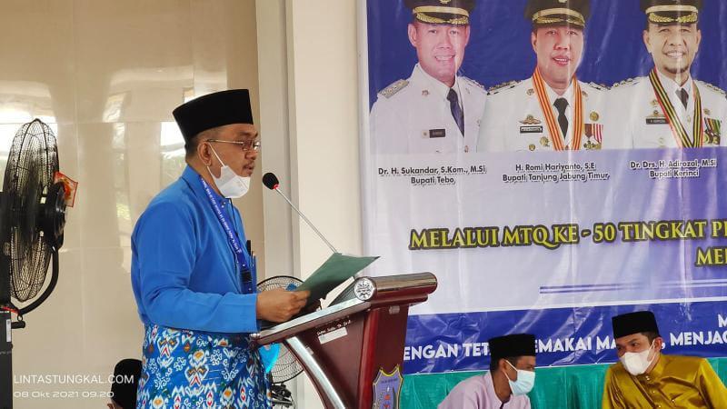 Ketua Koordinator Dewan Hakim Prof. Dr. H. Ahmad Syukri, MA