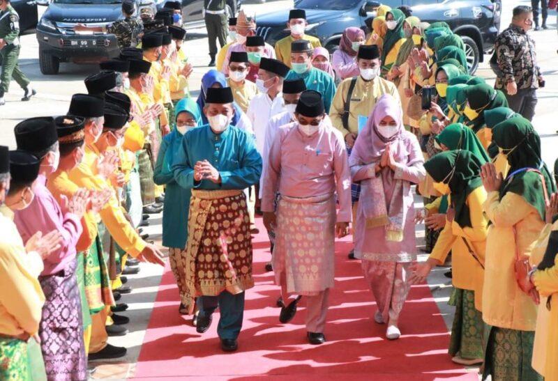 FOTO : Acara Penutupan MTQ KE 50 di Masjid Syaikh Utsman Tungkal, Jumat (8/10/21).