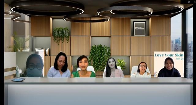 Dok. PetroChina Gelar Virtual Meeting Perawatan Diri dan Kulit.