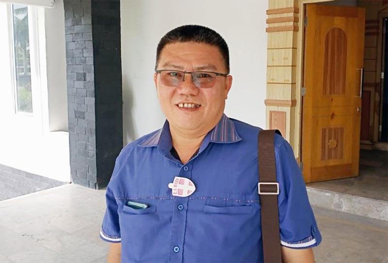 FOTO : Anggota DPRD Tanjabbar Jamal Darmawan Sie, SE, MM