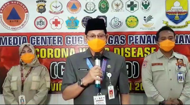 FOTO : Johansyah, Kepala Biro Humas dan Protokol Sekretariat Daerah Provinsi Jambi, Selasa (07/04/20)