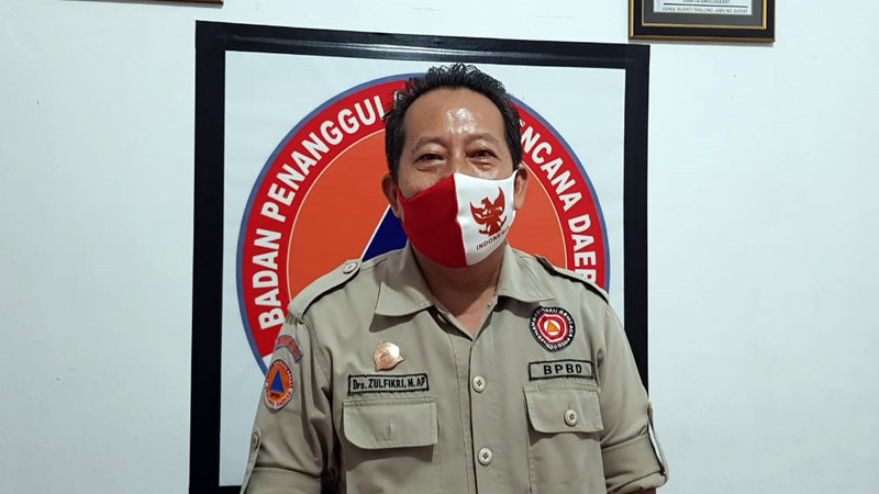 Kepala Pelaksana BPBD Tanjabbar Drs. Zulfikri, M.AP