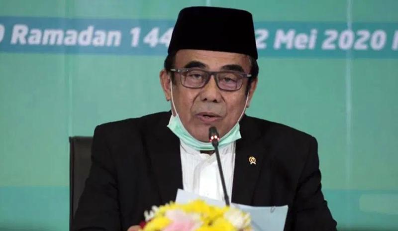 FOTO : Pelaksanaan Sidang Isbat Penetapan 1 Syawal 1441H Dipimpin oleh Menteri Agama, Fachrul Razi pada Jumat (22/05/20).