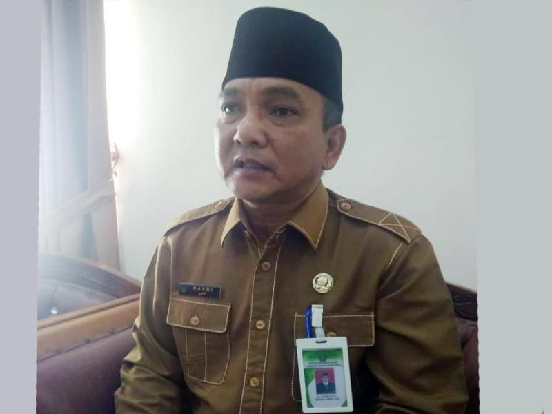 FOTO : Drs. Hasbi, M.Pd.I, Kepala Kementerian Agama Kabupaten Tanjung Jabung Barat Drs. Hasbi, M.Pd.I