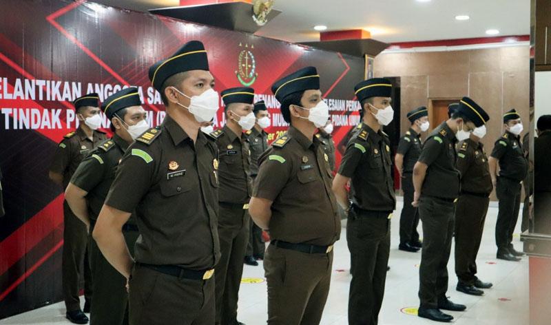 FOTO : Novan Harpanta, SH, MH, Saat Mengikuti Pelantikan oleh Kepala Kejagung RI di Kantor Kejaksaan Agung RI, Jakarta.